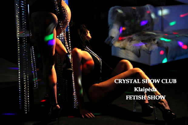 Crystal Show Club fetiš striptizas